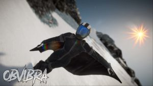 ObviBra wingsuit Steep
